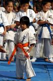 Karate kids Stock Photo