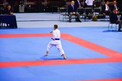 Karate 1 - liga Sofía 2018, 25-27 de mayo de la juventud Fotografía de archivo libre de regalías