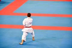 Karate 1 - liga Sofía 2018, 25-27 de mayo de la juventud Imagen de archivo libre de regalías