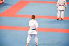 Karate 1 - liga Sofía 2018, 25-27 de mayo de la juventud Fotos de archivo