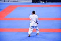Karate 1 - liga Sofía 2018, 25-27 de mayo de la juventud Foto de archivo libre de regalías
