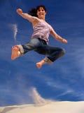 Karate-Mädchen Stockfotografie