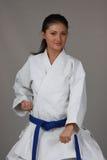 Karate-Mädchen Stockbilder