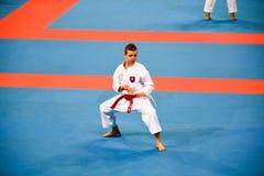 Karate 1 - młodość liga Sofia 2018, Maj 25-27 Obrazy Stock