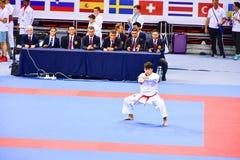 Karate 1 - młodość liga Sofia 2018, Maj 25-27 Obraz Royalty Free