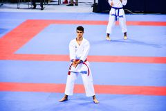 Karate 1 - młodość liga Sofia 2018, Maj 25-27 Zdjęcie Stock