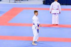 Karate 1 - młodość liga Sofia 2018, Maj 25-27 Obrazy Royalty Free
