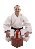 Karate man Royalty Free Stock Photos