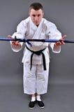 Karate man Stock Image