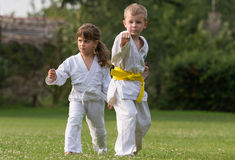Karate martial Arts Royalty Free Stock Photos