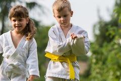 Karate martial Arts Stock Photography