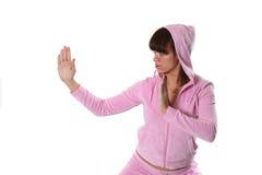 Karate-meisje Stock Afbeelding