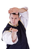 Karate men Royalty Free Stock Photo