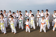 Karate men Stock Photo