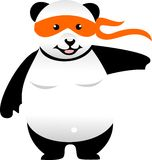 Karate Panda Stock Photos