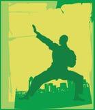 Karate Pose 1 Royalty Free Stock Image