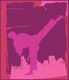 Karate Pose 4 Stock Image