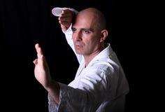 Karate Practice Royalty Free Stock Image