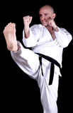 Karate Practice Stock Images