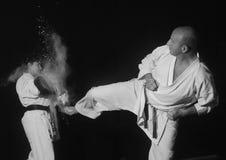 Karate przedstawienie Zdjęcie Stock