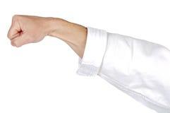Karate punch stock photo