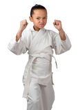 Karate ready Stock Images