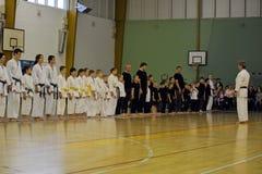 Karate school Stock Images