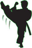 Karate sport zdjęcia royalty free