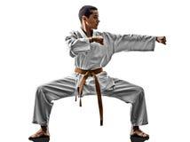 Karate teenagers kid Royalty Free Stock Image