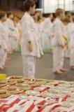 Karate tournament Royalty Free Stock Image
