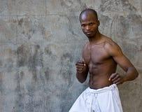 Karate training Royalty Free Stock Image