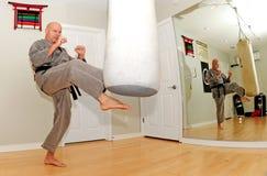 Karate Workout Royalty Free Stock Image