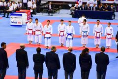 Karate 1 - Youth League Sofia 2018, May 25-27. Karate 1 - Youth League Sofia 2018. The Karate 1 – Youth League is a newly created competition conceived to royalty free stock image