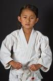 Karatejong geitje stock afbeelding