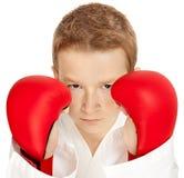 Karatejunge Lizenzfreies Stockfoto