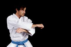 Karateka stock images