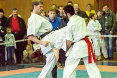 Karateka 2 Стоковое фото RF