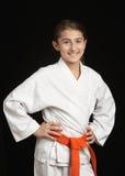 Karatemädchen Stockbilder