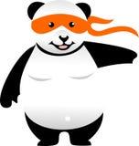 KaratePanda vektor illustrationer