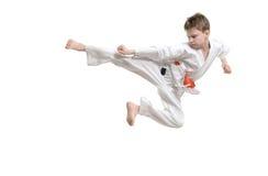 karateunge royaltyfri fotografi