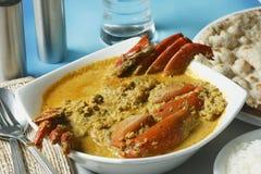 Karavali crab curry Royalty Free Stock Image