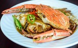 Karavali kraba curry Zdjęcie Stock
