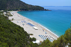 Karavostasi beach at Syvota, Greece Stock Photography