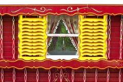 karawanowy okno Obrazy Stock