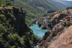 Karawau flod Royaltyfri Fotografi