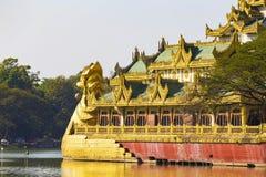 Karaweik Palace Stock Image