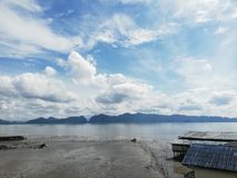 Karbi a sud della Tailandia fotografia stock libera da diritti