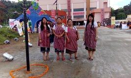 Karbi traditionele kledij Royalty-vrije Stock Afbeeldingen