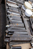 Karbid-gespitzte Werkzeuge Stockfotografie