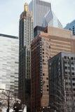 Karbid-u. Kohlenstoff-Gebäude lizenzfreie stockbilder